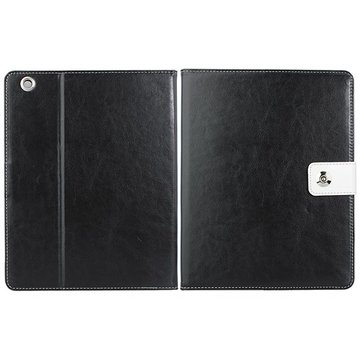Magnetic Buckle Folio PU Leather Case Folding Stand For iPad 2 3 4