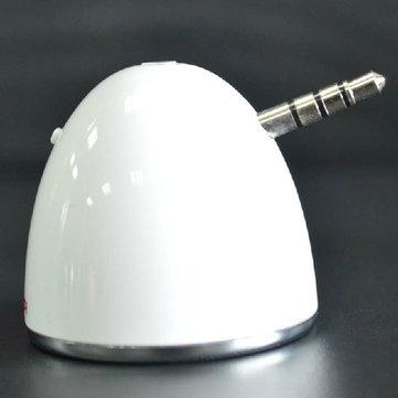 Haut-parleur de téléphone portable de 3,5 mm pour iPhone iPod iPad Téléphone portable