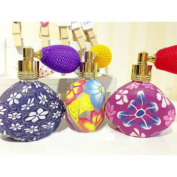 10ML Polymer Clay Triangle Perfume Gasbag