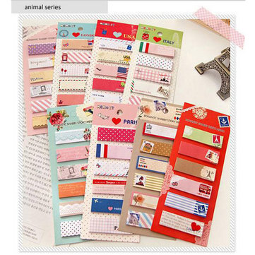 Cute Cartoon Sticky Notes Aniaml Notepad