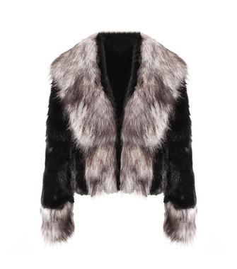 Luxurious Women New Fashion Marten Short Fur Autumn Coat