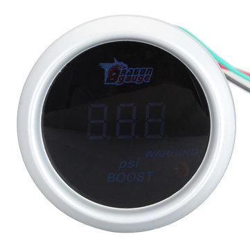 Buy Blue Digital LED -14~30 PSI Turbo Boost Gauges Car Auto