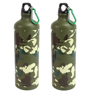 750ml Fietsen RVS Camping Waterfles