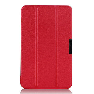 Ultra Thin Tri-fold PU Leather Case Cover For Asus note M80ta