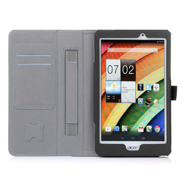 Folio PU Leather Case Card Holder Cover For Acer A1-840FHD Tablet