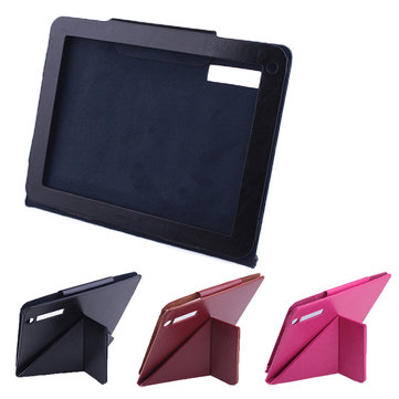 Folding Stand PU Leather Case Cover For Newsmy F9 Tablet