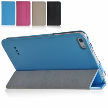 Folio PU Leather Case Stand Cover For Colorfly G718 Tablet
