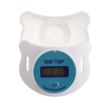 Baby LCD Digital Infant Temperature Nipple Thermometer