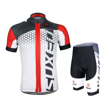 ARSUXEO Men Cycling Jersey Bike Bicycle