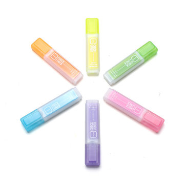 Highlighter Pen Candy Color Fragrance Large Capacity Fluorescent Marker Graffiti