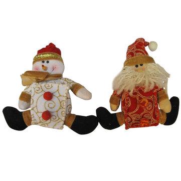 لطيف ثلج سانتا كلوز الأب عيد الميلاد للهدايا الزينة