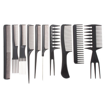 hair styling comb professional salon hair styling hairdressing plastic combs 3449