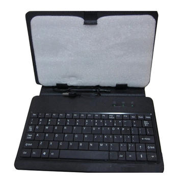 USB Keyboard Bracket Leather Case Bag
