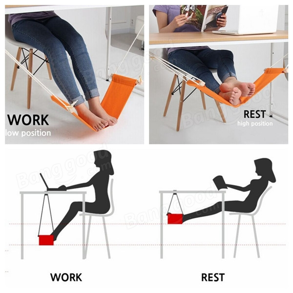 1 x fuut desk feet hammock desk foot cot bed