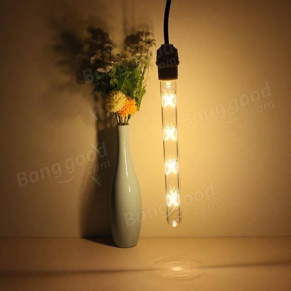 e27 280mm t30 8w retro led filament edison lamp light bulb 220v