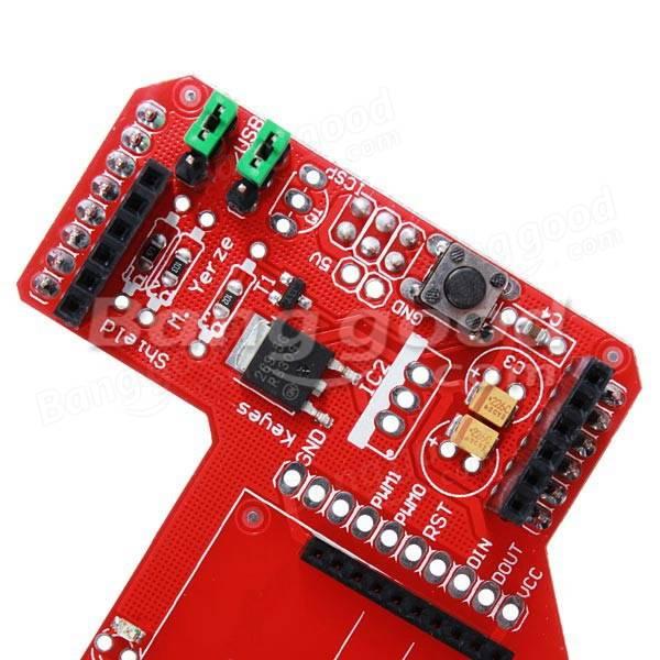 Zigbee shield rf wireless module expansion board for