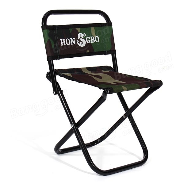 Camouflage Folding Stool Canvas Portable Double Folding Fishing Chair  sc 1 st  Banggood : portable folding stool - islam-shia.org
