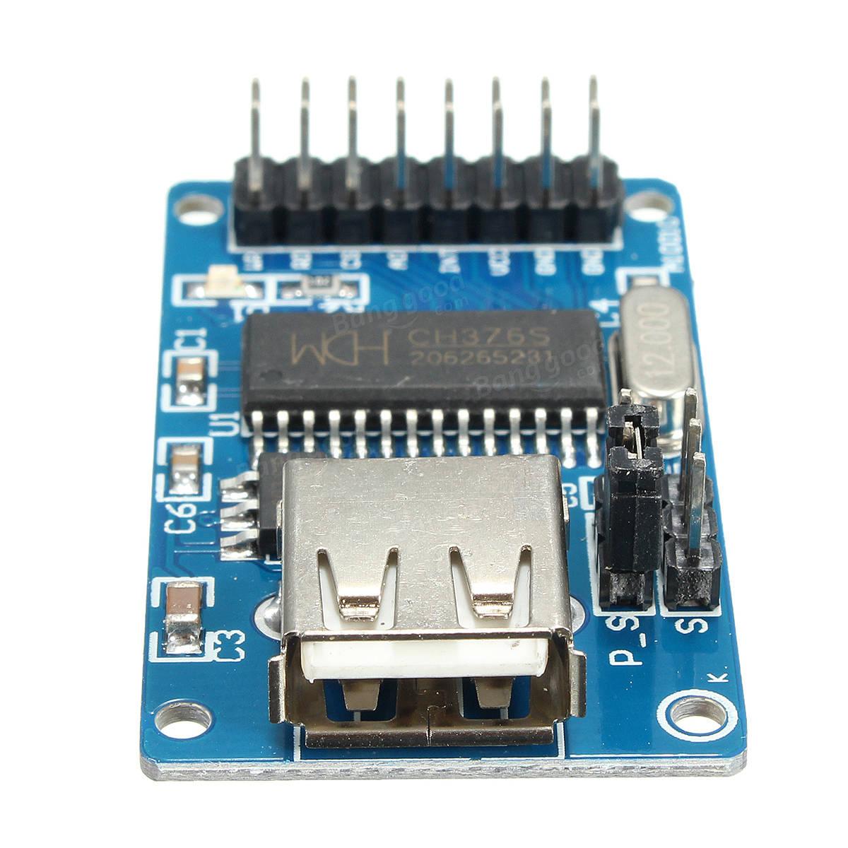 SMAKN CH376S U Disk SD Card Read-write Modules USB