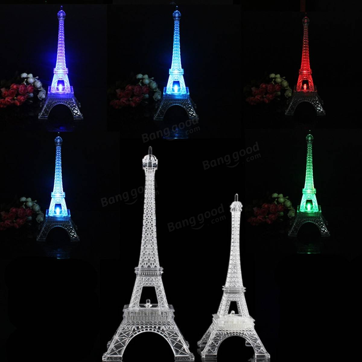 Eiffel Tower Accessories For Bedroom