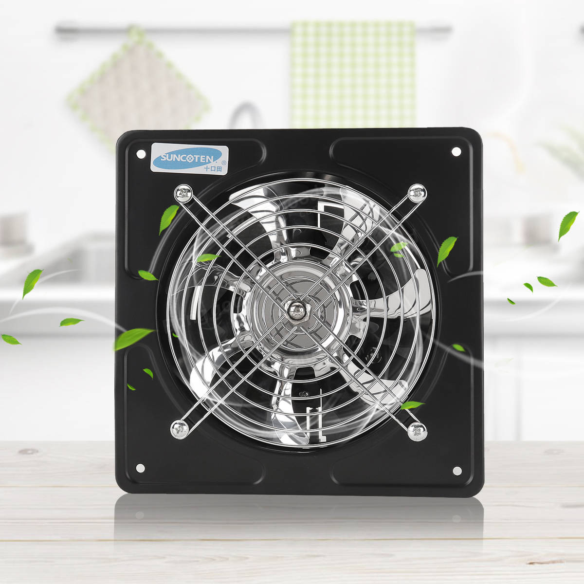 40w 6 Inch Ventilation Exhaust Fan Kitchen Bathroom Window Ceiling Wall Mounted Sale