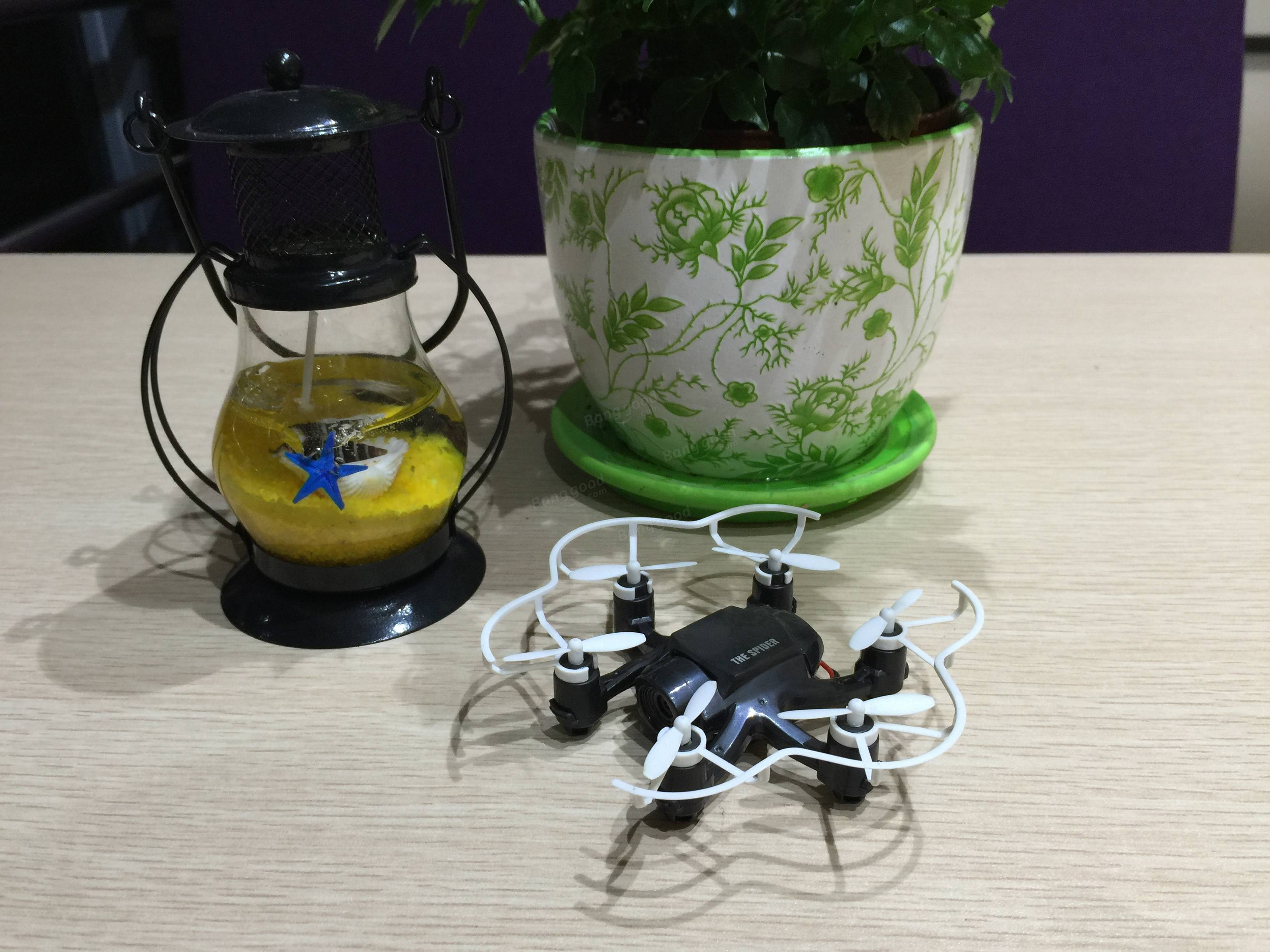 fq777 126c mini spider with 2 0mp hd camera dual mode one key to