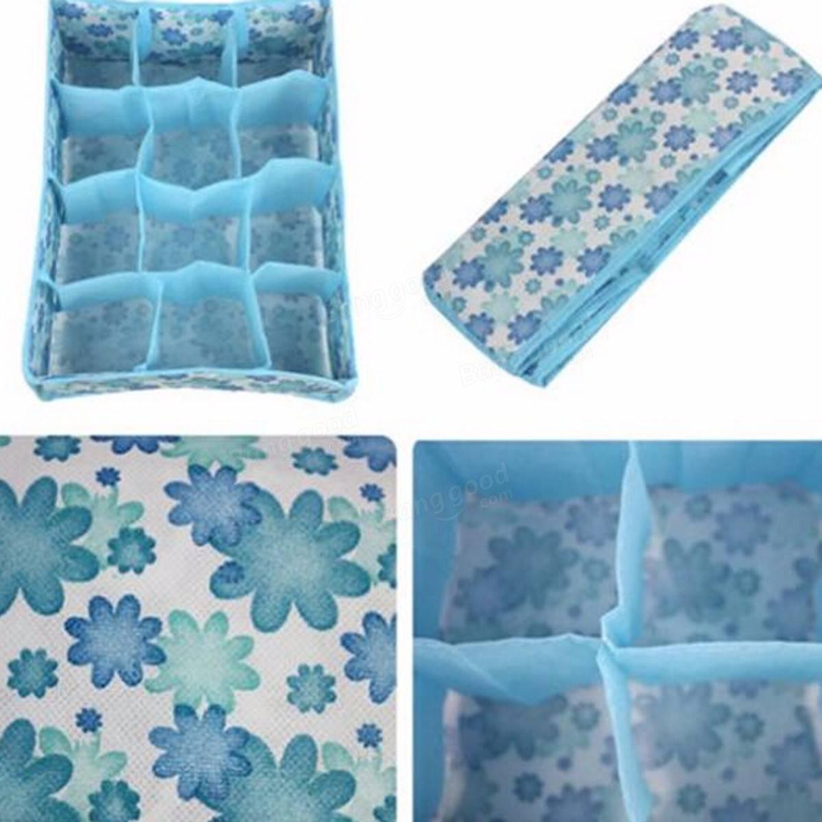 12 c lulas ropa interior calcetines caja de la caja de for Cajas de almacenaje zara home