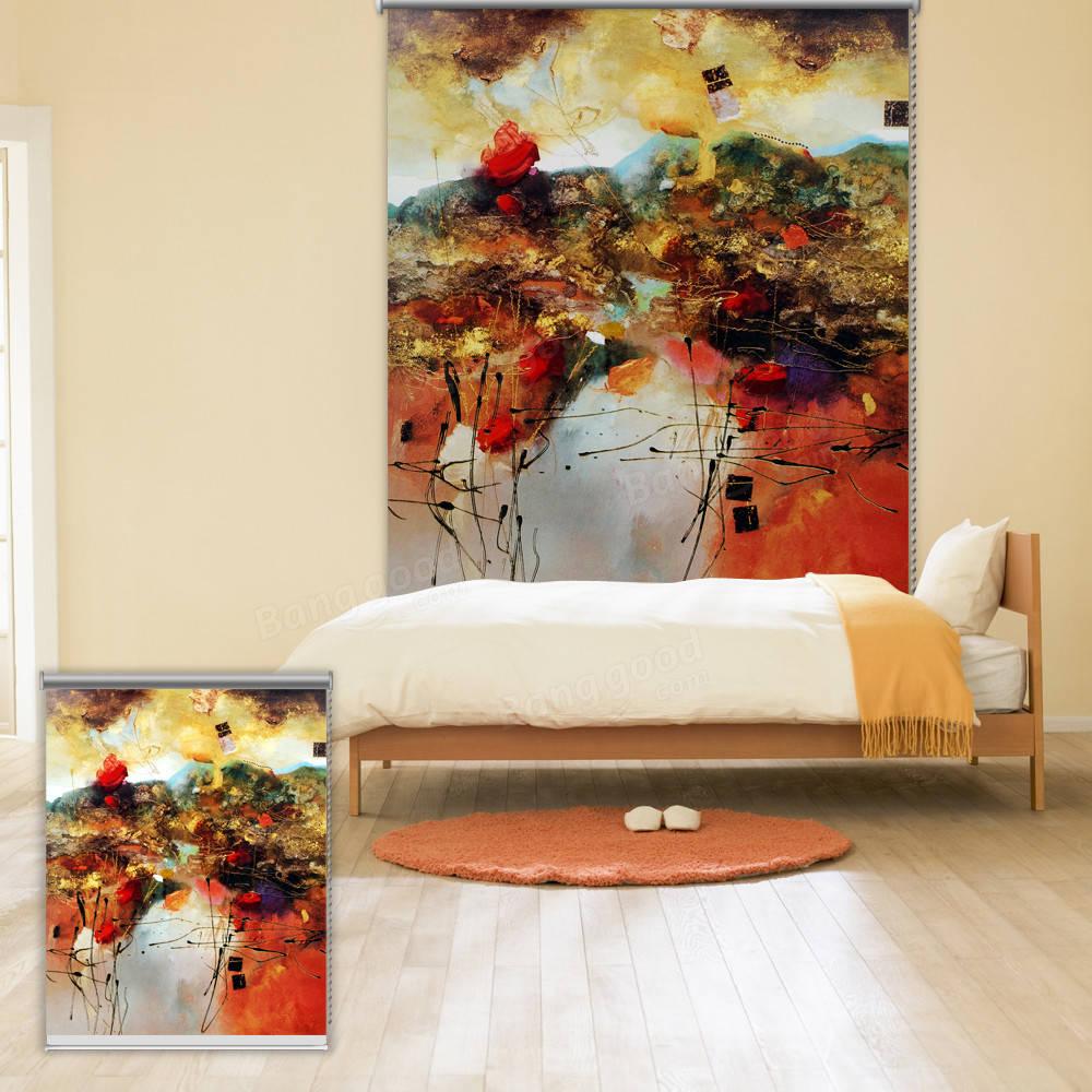 pag mur fen tre d coration rideaux volets roulants abstrait color rouleau de peinture de fond. Black Bedroom Furniture Sets. Home Design Ideas
