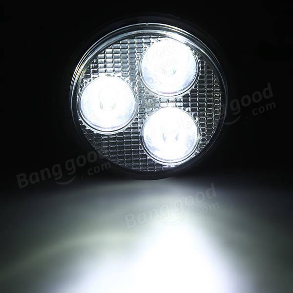 Spotlight Headlight: 3 Inch 12-80V Round LED Spotlight Headlight For Motorcycle