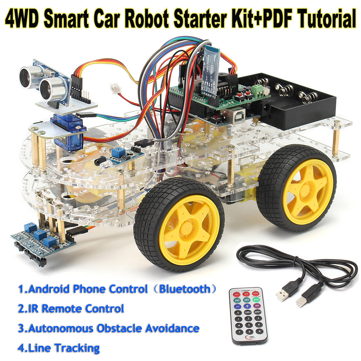 How to Make Your First Robot Using Arduino DIY
