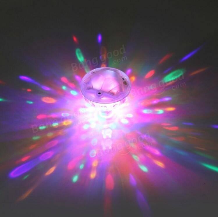 Waterproof Colorful LED Bathroom Light Under Water Pool Party ...