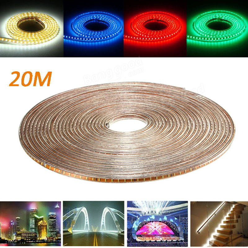 20m smd3014 waterproof led rope lamp party home christmas indoor outdoor strip light 220v sale. Black Bedroom Furniture Sets. Home Design Ideas