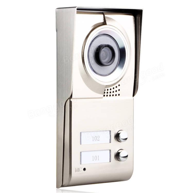 Ennio Sy811wmc12 2 Apartment Family Video Door Phone