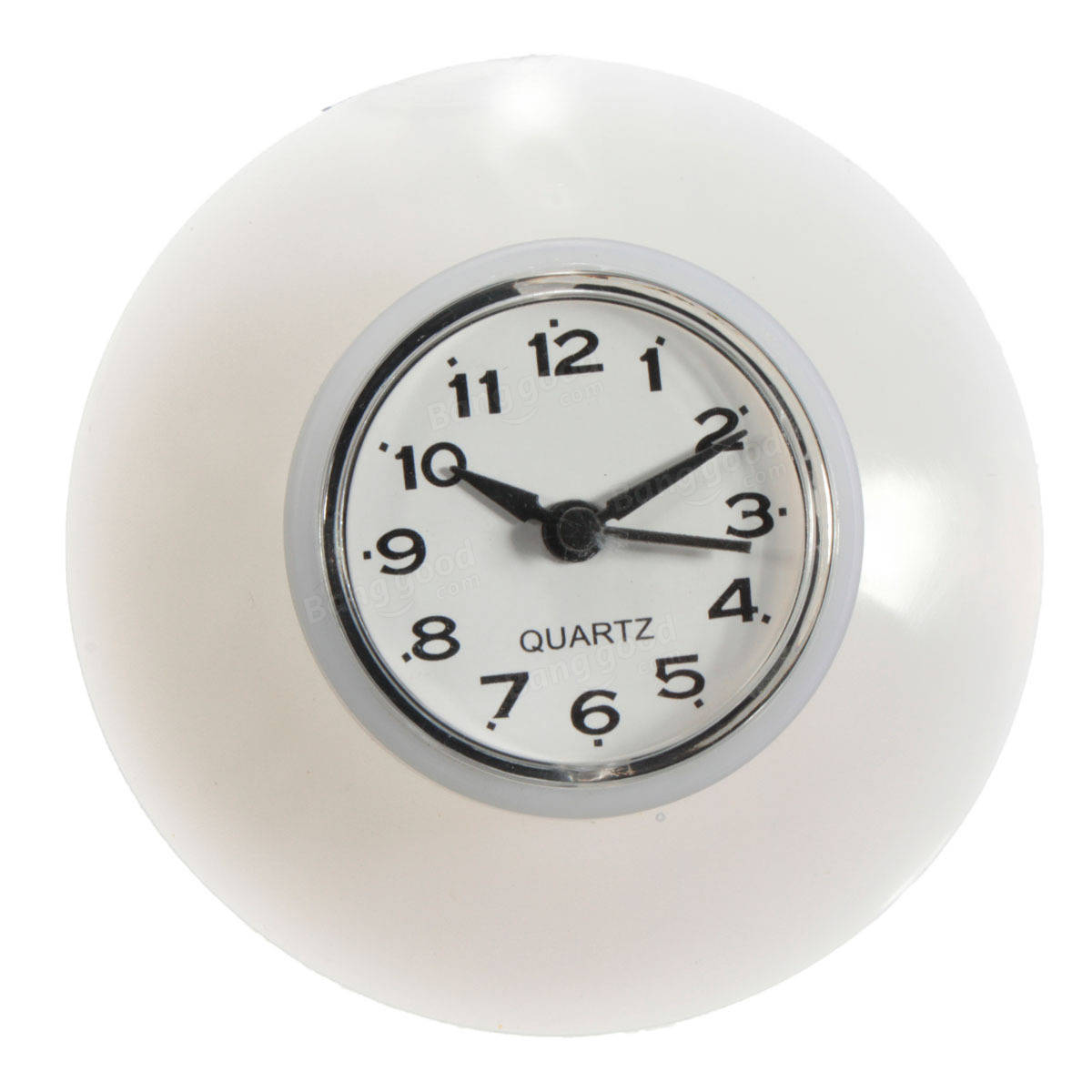 Clocks for bathroom wall - Bathroom Kitchen Waterproof Wall Clock Resistant Timer Suction Cup
