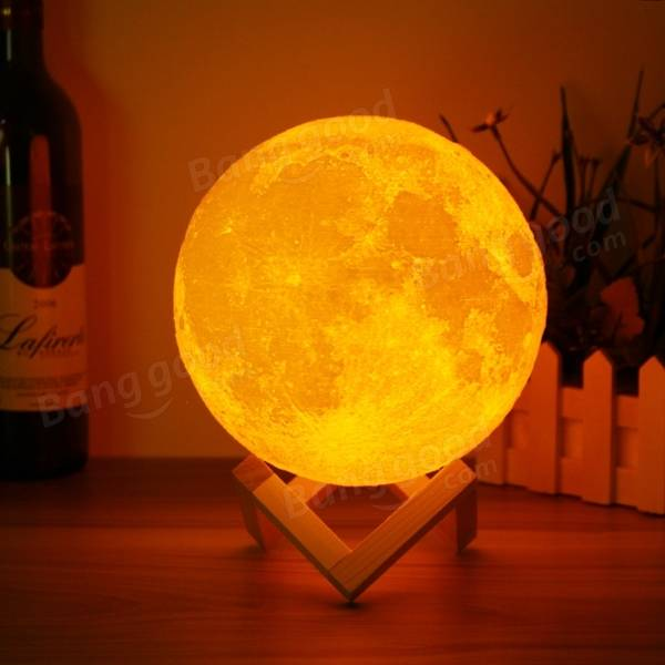 Magical Two Tone Moon Lamp USB...