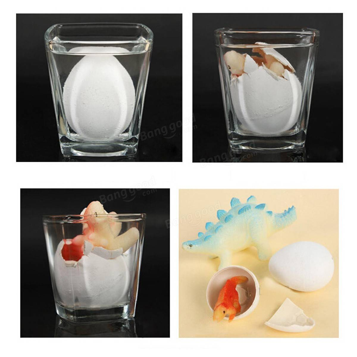 1pc large funny magic growing hatching dinosaur eggs christmas