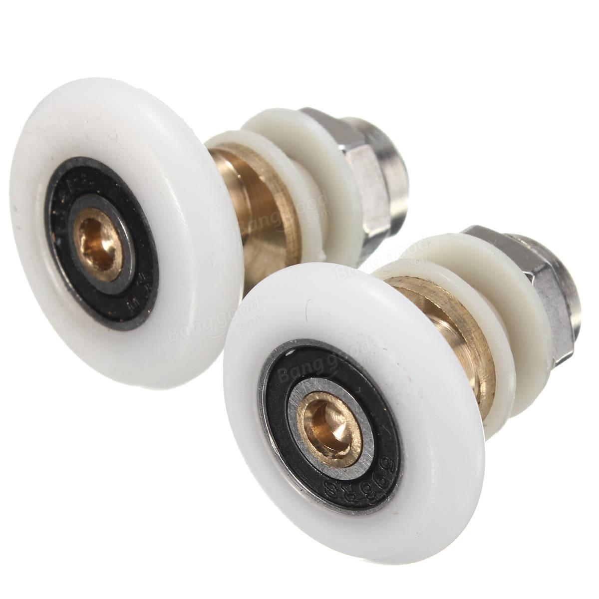 25 27mm Replacement Brass Bathroom Shower Door Roller