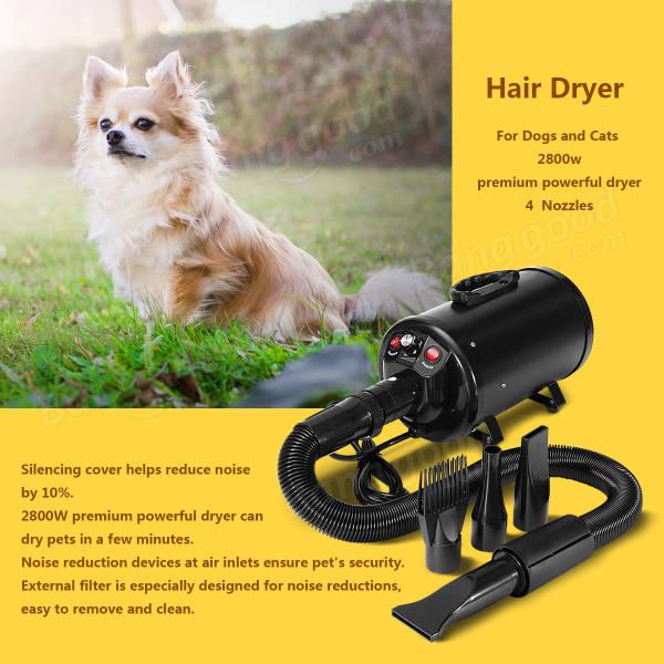 2800w s che cheveux pour animaux de compagnie grande vitesse s che cheveux pour chiens et. Black Bedroom Furniture Sets. Home Design Ideas