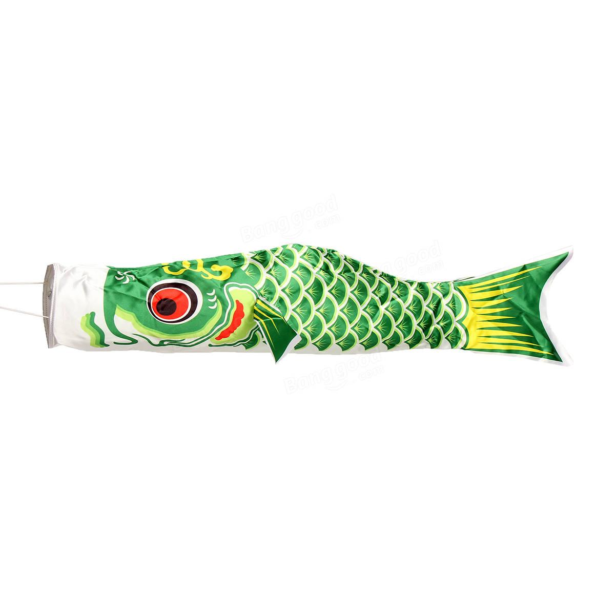 100cm koi nobori carp wind sock koinobori fish kite flag for Japanese fish flag