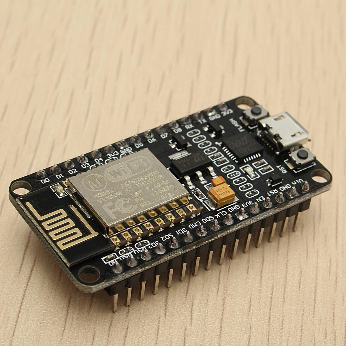 Geekcreit® NodeMcu Lua WIFI Internet Things Development Board Based ESP8266 CP2102 Wireless Module