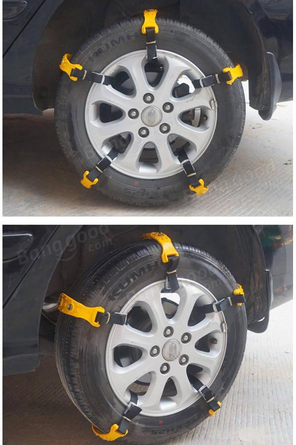 10pcs car tire snow chains beef tendon van wheel tyre anti skid tpu chains set sale. Black Bedroom Furniture Sets. Home Design Ideas