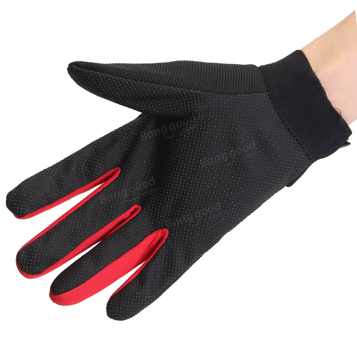 Motorcycle gloves with id pocket - Motorcycle Sport Full Finger Gloves Anti Slip Breathable Riding Racling Gloves