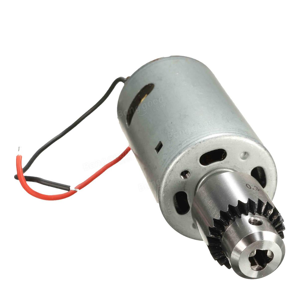 Dc 12v 24v 555 Motore Per Trapano A Mano Elettrico Fai Da