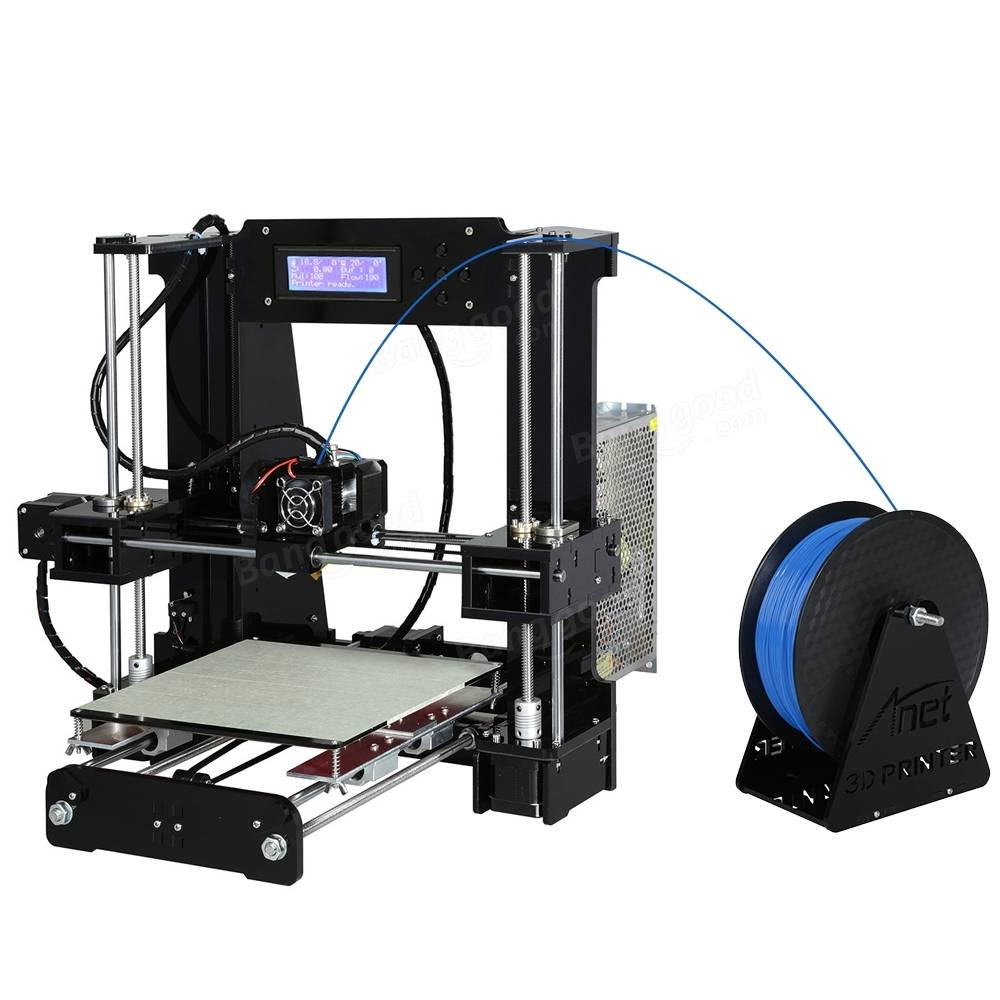 Anet® A6-L5 DIY 3D Printer Kit With Auto Leveling 220*220*250mm Printing Size 1.75mm 0.4mm Nozzle
