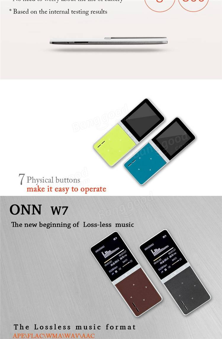 Onn w7 18 inch lcd 8gb sport mp3 player support fm radio video onn w7 18 inch lcd 8gb sport mp3 player support fm radio video micro sd card fandeluxe Gallery