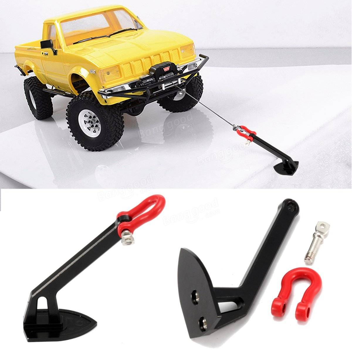 1 10 Scale Truck Heavy Winch Anchor Rc Rock Crawler Car Part