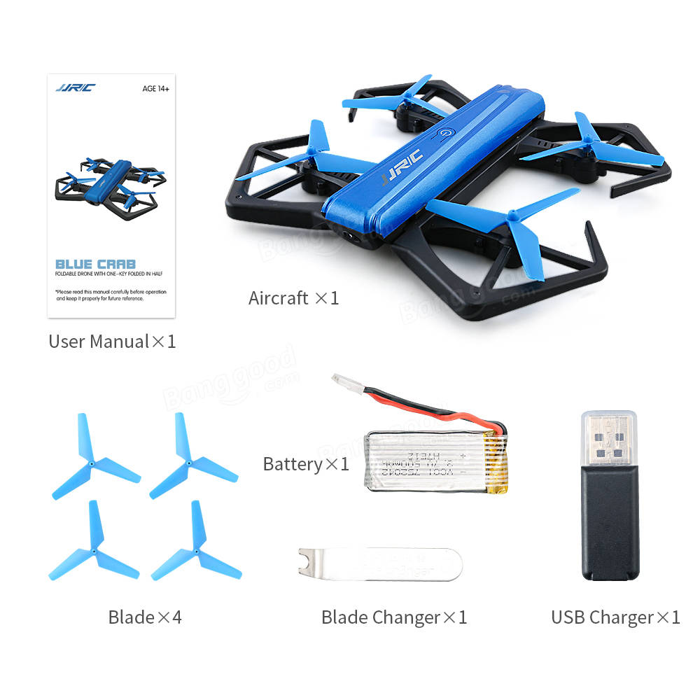 JJRC H43WH WIFI FPV With 720P Camera High Hold Mode Foldable Arm RC Quadcopter
