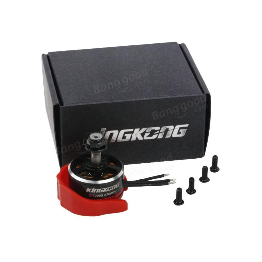 Kingkong 2205 GT2205 2700KV 2-4S Brushless Motor With Motor Protector For X210 220 250 280 Frame Kit