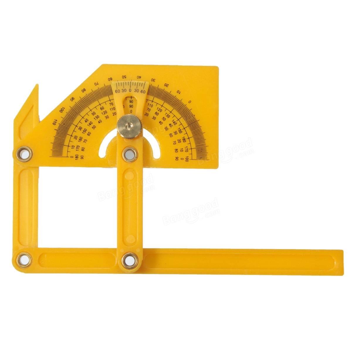 8195 template - Plastic Adjustable Bevel Angle Gauge Level Indicator Angle Finder Protractor Measurement Tool