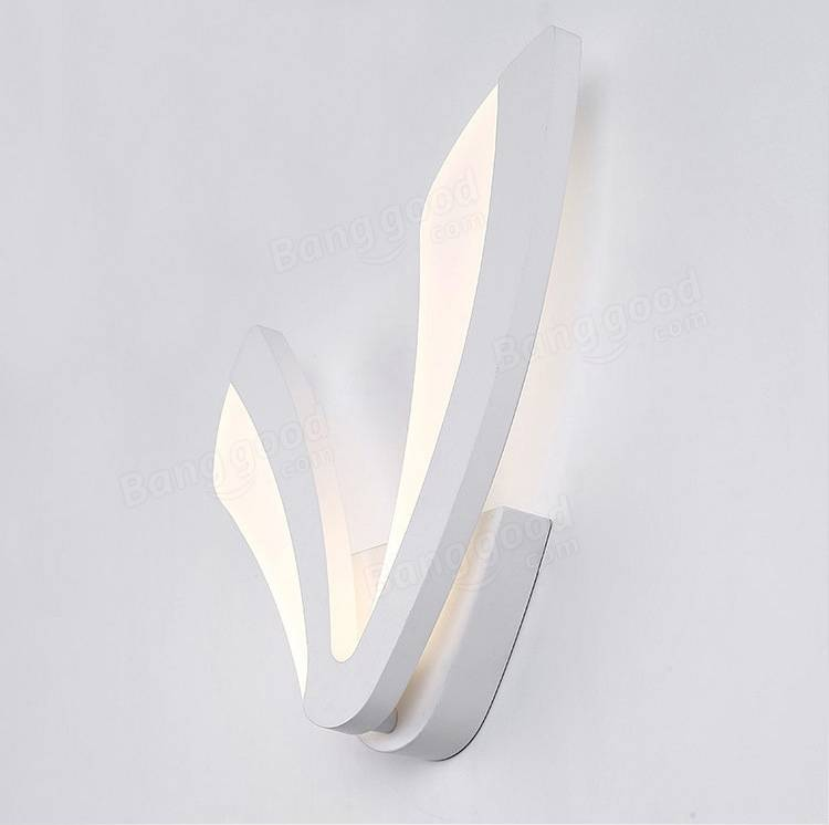 Modern 9W V Shape LED Wall Lamp Indoor Lighting Sconce for ...