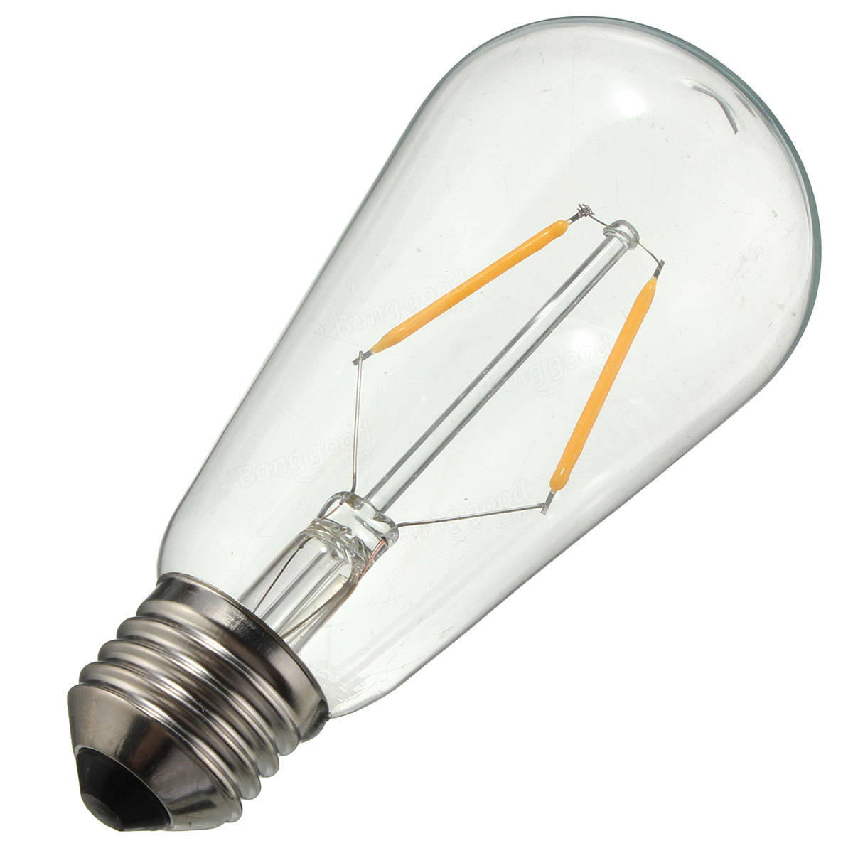 e27 led 2w warm white cob led filament retro edison light bulb ac110v ac220v sale. Black Bedroom Furniture Sets. Home Design Ideas